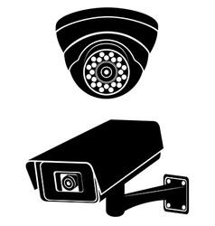 Surveillance cameras 08 vector