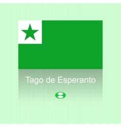 Esperanto day vector