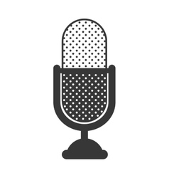 microphone device icon vector image