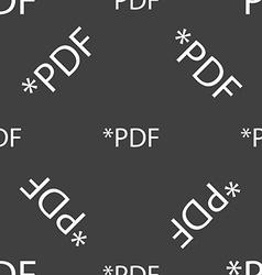 PDF file document icon Download pdf button PDF vector image vector image