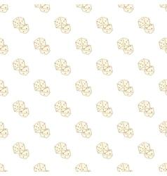 Dice pattern cartoon style vector