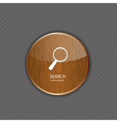 Search wood application icons vector