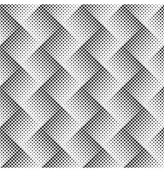Abstract background black white halftone vector image vector image