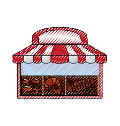 Bakery bread shop vector