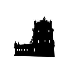 Belem tower in lisbon portugal vector