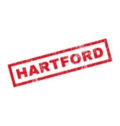 Hartford rubber stamp vector