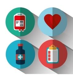 Medical heatlhcare design vector image