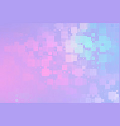 Pale purple pink turquoise glowing various tiles vector