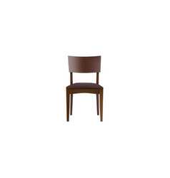 realistic stool element of vector image