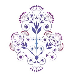 Ornamental vignette vector
