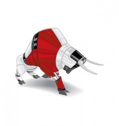 Electronic bull vector