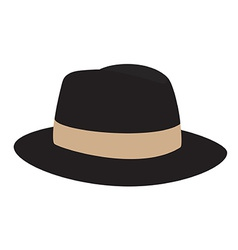 Fedora hat vector