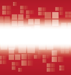 RED Geometric Background vector image