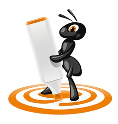 Ant Target vector image
