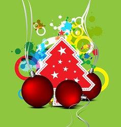 christmas celebration background design vector image vector image