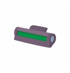 Printer toner cartridge icon cartoon style vector image