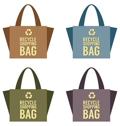 Recycle bag vector