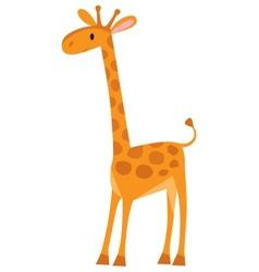 Funny giraffe vector