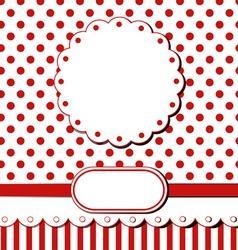 scrap greeting card vector image