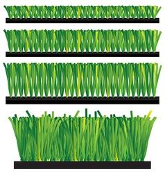 Artificial Grass - synthetic grass - artifi vector image vector image