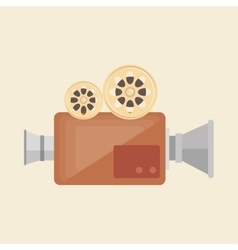 Camera film vintage recorder movie vector