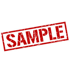 Sample stamp vector