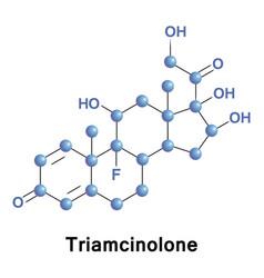 Triamcinolone synthetic glucocorticoid vector