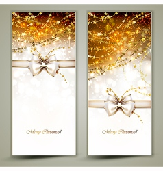 Two greeting cards vector