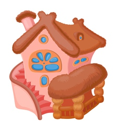 Cartoon house vector