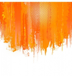 paint splashes background vector image