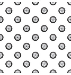 Car wheel pattern vector