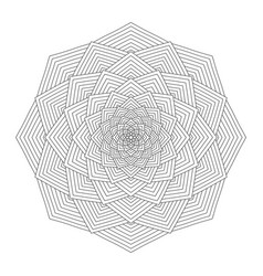 Mandala coloring book for adults vector