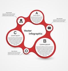 Modern infographic Design elements vector image vector image