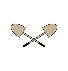 Shovel-380x400 vector image vector image
