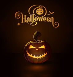 Jack o lantern dark mean rag doll vector