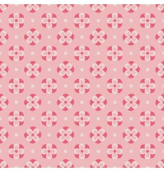 Cute floral seamless pattern vector