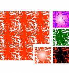 tiled backgrounds vector image