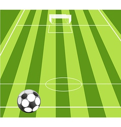 Football ground background vector