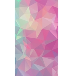 Shades of pink abstract polygonal geometric vector