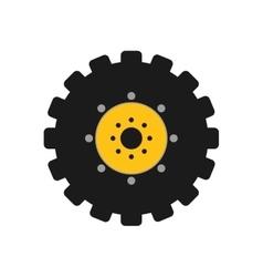 Gear icon machine part concept graphic vector