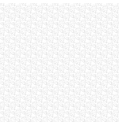 Abstract swirls on white background vector image vector image