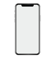 new phone drawing isolated on white background vector image vector image