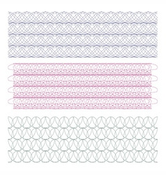 watermarks design element vector image vector image