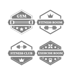Set of sports emblems vector