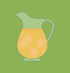 Decanter carafe icon vector