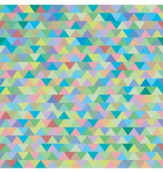 seamless colorful zig zag triangle pattern vector image