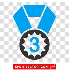 Third place eps icon vector