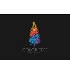 Tree logo creative logo nature logo color tree vector