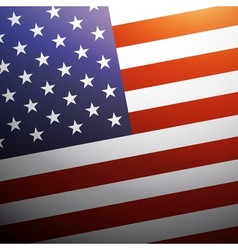 United State of America flag background USA flag vector image