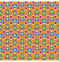 Abstract geometric colorful seamless pattern vector